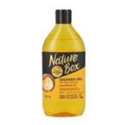 Nature box gel za tuširanje, Macedamia oil, 385ml
