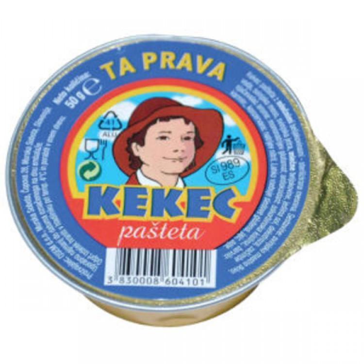 PAŠTETA KEKEC, 50G